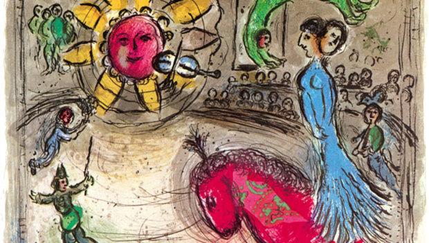 Chagall 'yaşam ve Aşk'